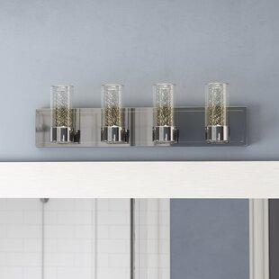 Orren Ellis Andi LED 4-Light Vanity Light