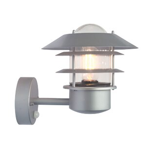 Compare Price Portland 1 Light Outdoor Sconce With Motion Sensor