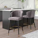 Stratton 28 Bar Stool (Set of 2) by Mercury Row