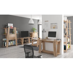 Via Ladder Writing Desk And Bookcase Set