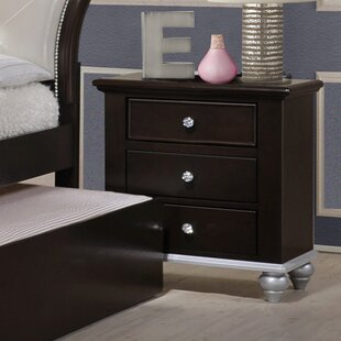 Best Choices Johnny 3 Drawer Nightstand by House of Hampton