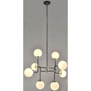 Bedard 8-Light Sputnik Chandeliers by Wrought Studio