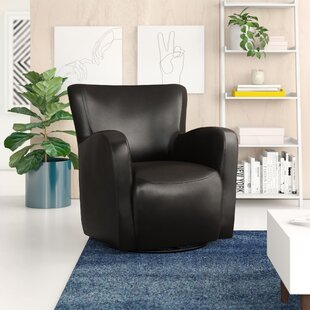 Makson Swivel Armchair by Zipcode Design