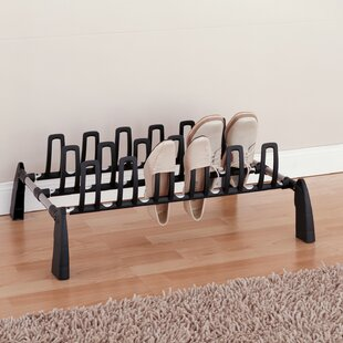 1-Tier 9 Pair Shoe Rack By Organize It All