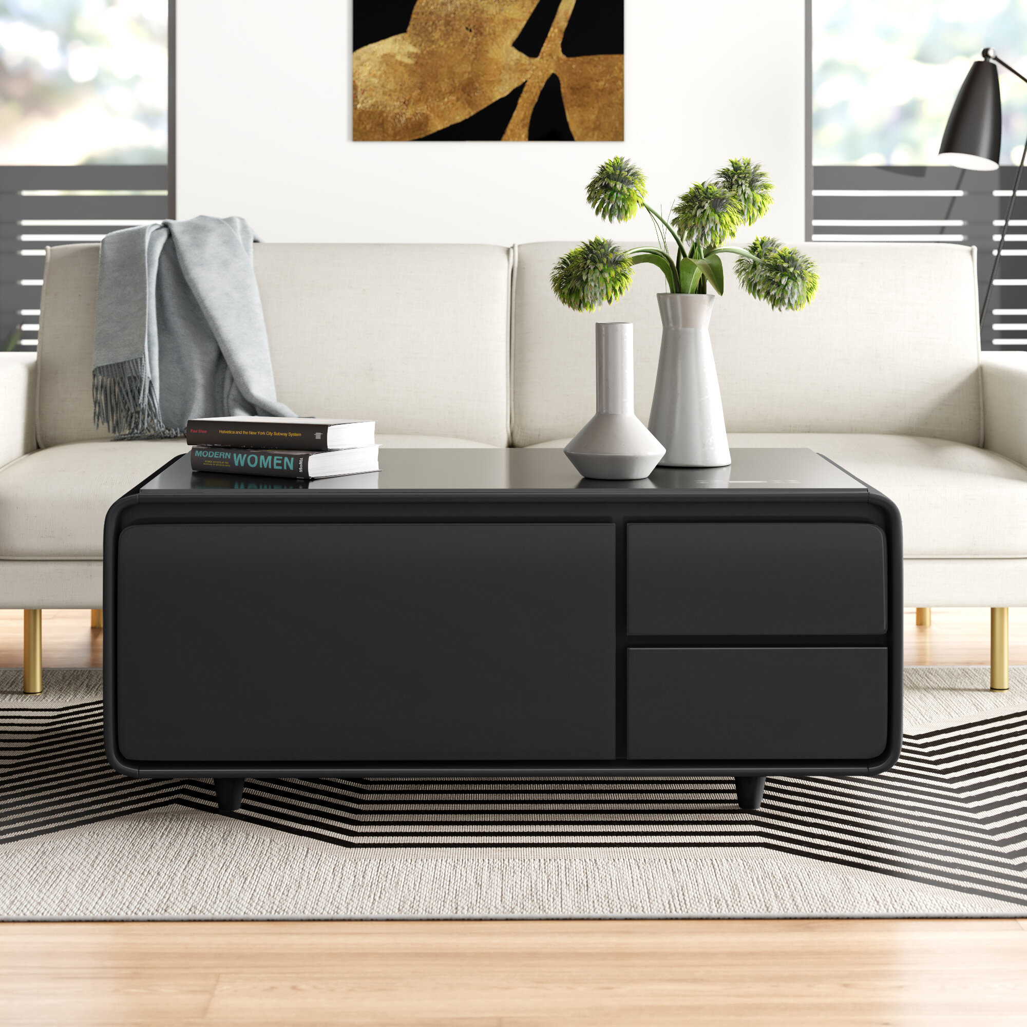 Smart Coffee Table With Storage Allmodern