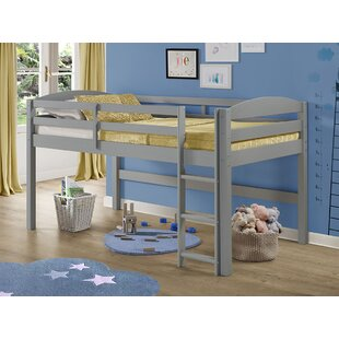 Dupuis Solid Wood Twin Loft Bed
