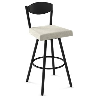 Maier Swivel Bar Stool by Red Barrel Studio