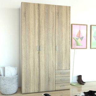 Zipcode Design Minda 3 Drawer and 3 Door Armoire