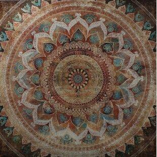 Indian Mandala II Framed Wall Art On Canvas