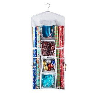 Hanging Organizer Gift Wrap Storage  sc 1 st  Wayfair & Wrapping Paper Storage Youu0027ll Love | Wayfair