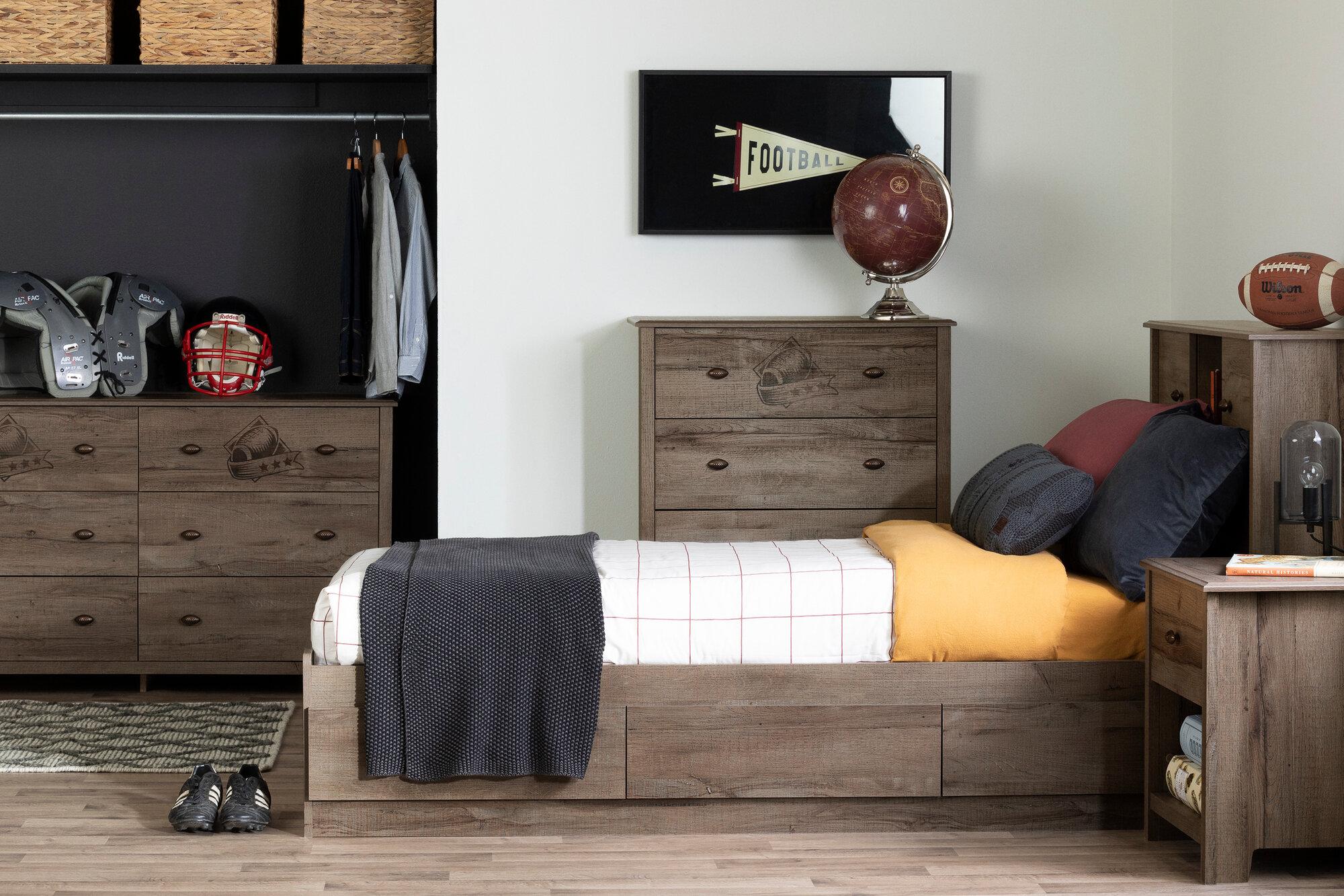 Mates Twin 4 Piece Bedroom Set
