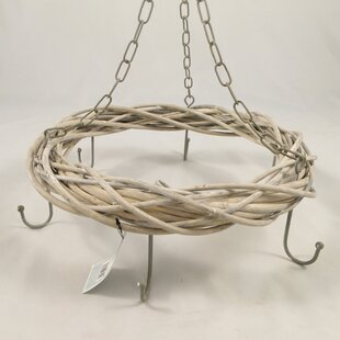 Hanging 36cm Willow Wreath By The Seasonal Aisle