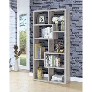 Harkless Geometric Bookcase by Wrought Studio