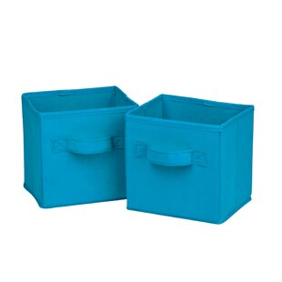Reviews Soft Storage Fabric Cube or Mini Bin (Set of 2) By Honey Can Do