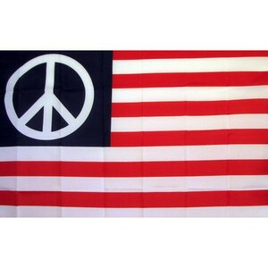 US Peace Historical Traditional Flag