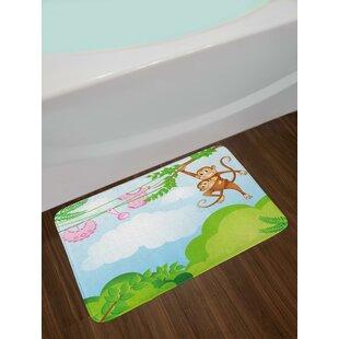 Monkey Nursery Bath Rug