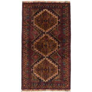 Find the perfect One-of-a-Kind Alexandrine Hand-Knotted Black / Brown Area Rug By Isabelline