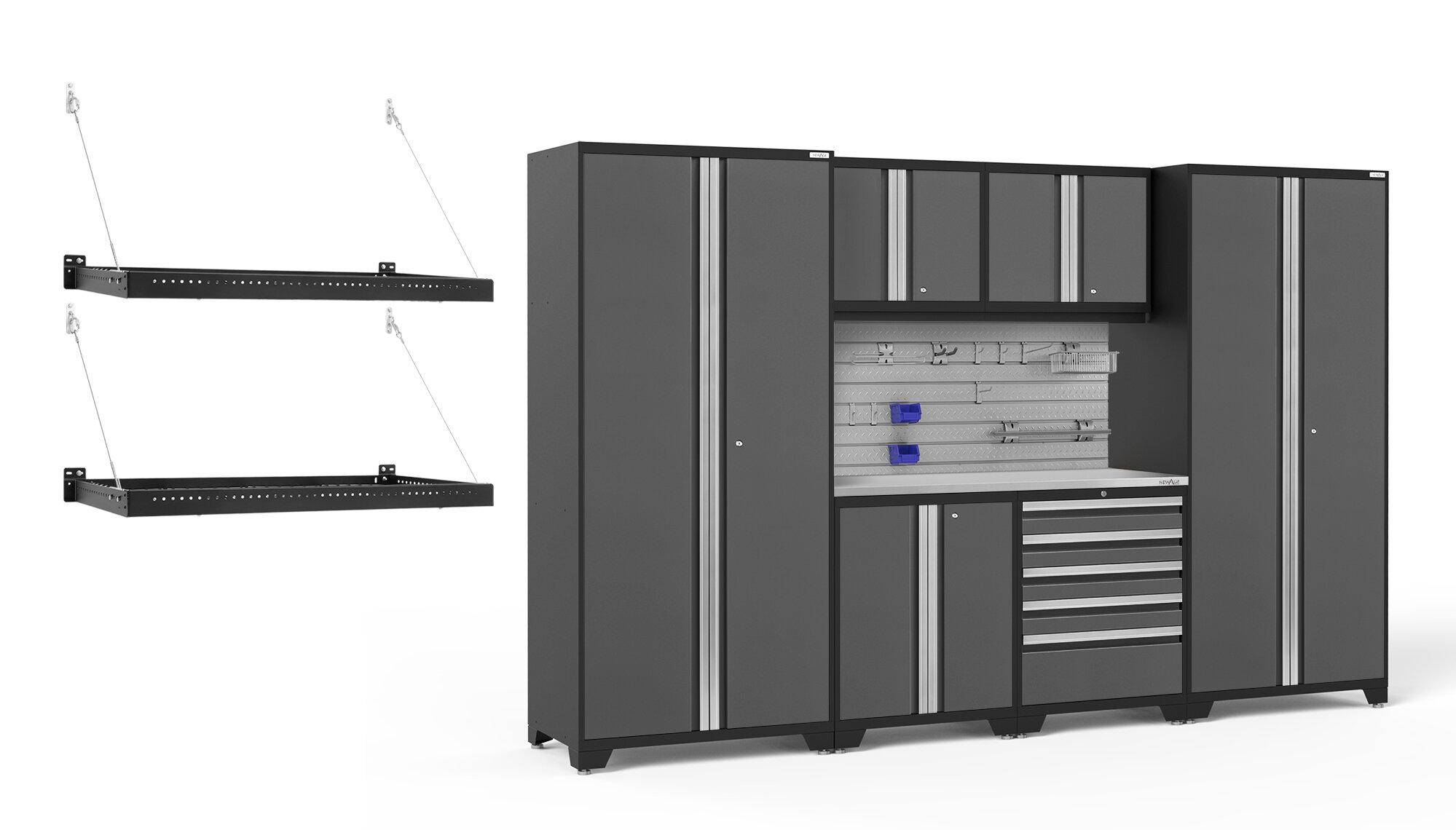 Newage Products Pro Series 7 Piece Storage Cabinet Set Wayfair