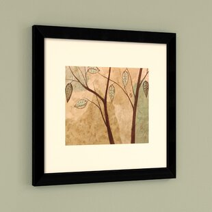 Foliage I: Branches Framed Painting Print by Red Barrel Studio