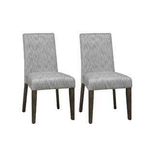 Gracie Oaks Cleasby Upholstered Dining Chair (Set of 2)