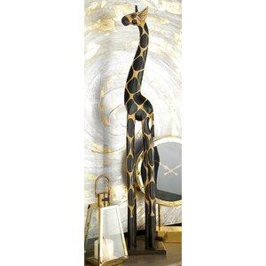 Jerome Wood Giraffe Sculpture