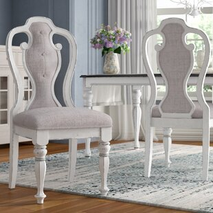 Tiphaine Upholstered Dining Chair (Set of 2) Lark Manor