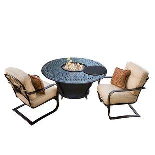 Owego 5 Piece Conversation Set with Cushions