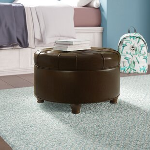 Bianca Large Tufted Storage Ottoman by Charlton Home