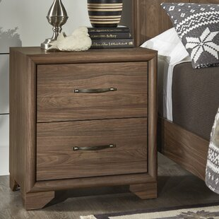 Downey 2 Drawer Nighstand by Alcott Hill