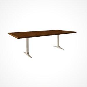 Darbonne Wood Top Dining Table by Brayden Studio