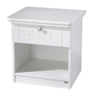 Review Dreamworld 2 Drawer Bedside Table