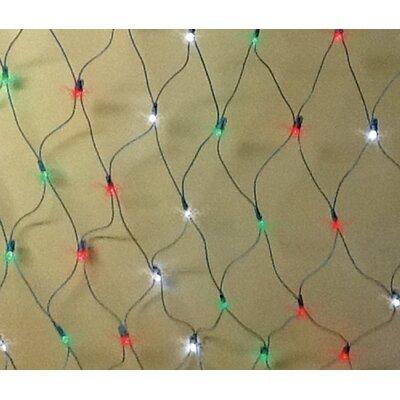 Queens of Christmas 240 Light Net Light Bulb Colour: 3 Multi