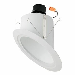 Online Reviews Super Sloped Ceiling Baffle Inserts 6 LED Recessed Trim By Elco Lighting