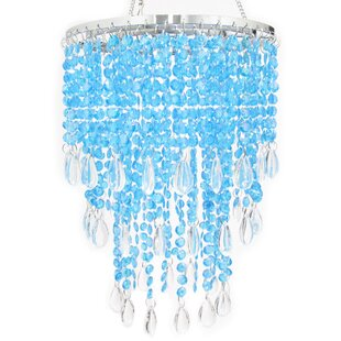 Holladay 3 Tier Tear Drop Crystal Chandelier