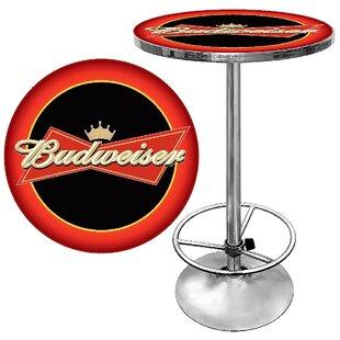 Trademark Global Budweiser Pub Table I