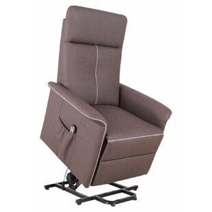 Kristen 3 Position Power Lift Assist Recliner Red Barrel Studio