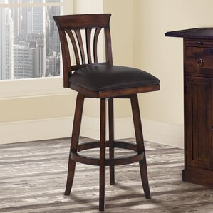 Alcott Hill Hegwood 30 Swivel Bar Stool