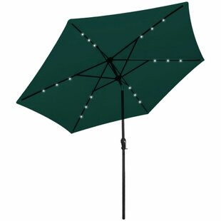 LED 3m Parasol With Lights By Freeport Park