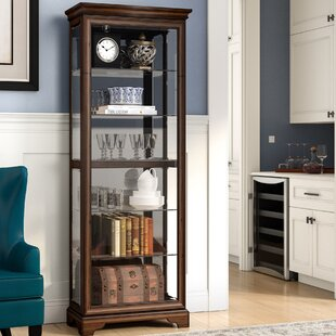 Charbonneau Lighted Curio Cabinet