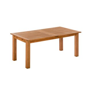 Greber Extendable Wooden Dining Table By Sol 72 Outdoor