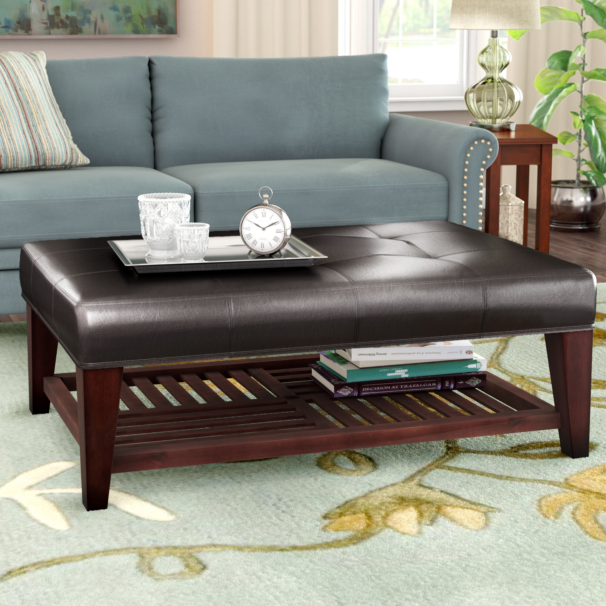 Charlton Home Martinelli Coffee Table With Storage Reviews Wayfair