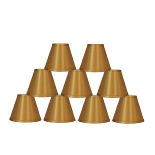 6 Satin Empire Lamp Shade (Set of 9)