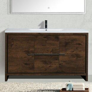Buying Almendarez Modern 59 Single Bathroom Vanity Set ByLangley Street