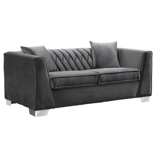 Affordable Price Gagnon Contemporary Loveseat by Brayden Studio Reviews (2019) & Buyer's Guide