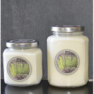 Artisan Lavender Jar Candle