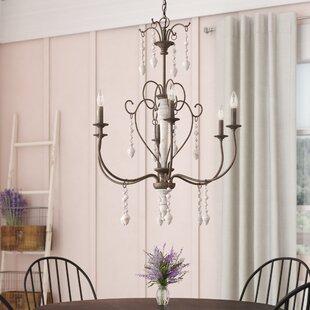 Lark Manor Bouchette Traditional 6-Light ..