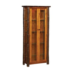 Loon Peak Queens Enclosed Lighted Curio Cabinet