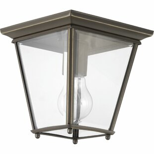 Darby Home Co Gunnora LED Outdoor Flush Mount