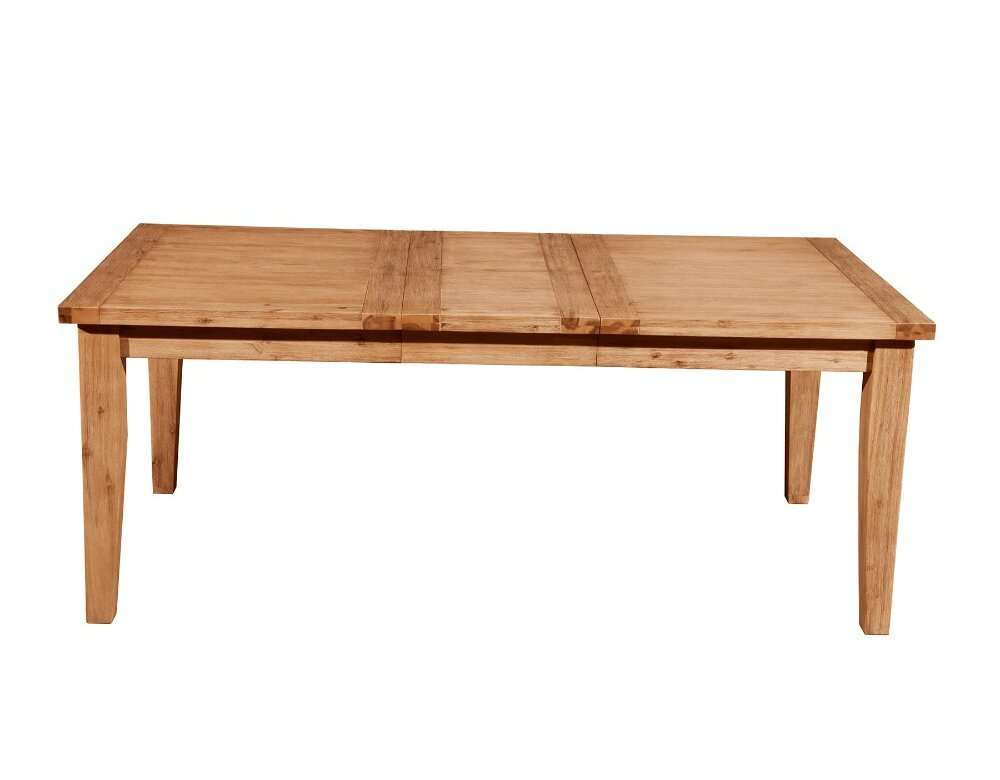 Millwood Pines Athol Fantastic Extension Solid Wood Dining Table Wayfair