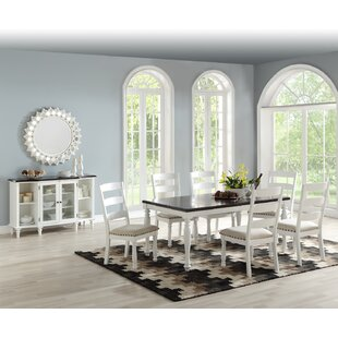 Gearld 7 Piece Dining Set Highland Dunes